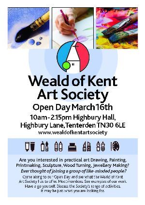 Weald of Kent Art Society Open Day