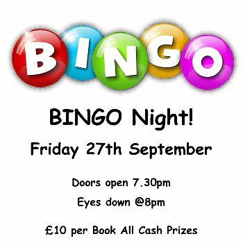 Bingo Night at the Tenterden Club