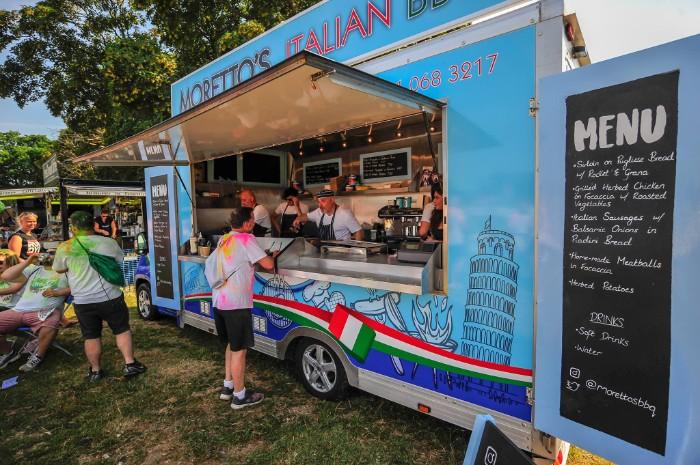 Morettos Italian BBQ Food Truck