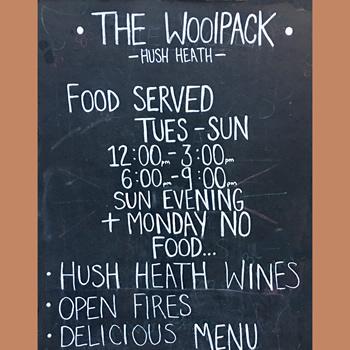 Woolpack Hush Heath Tenterden