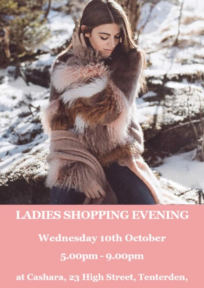 Cashara Ladies Shopping Evening