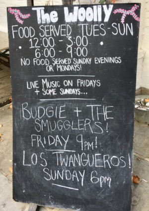 Live Music The Woolpack