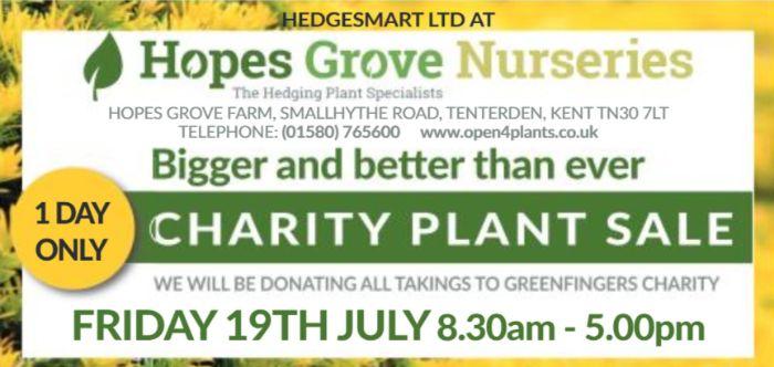 Charity Plant Sale