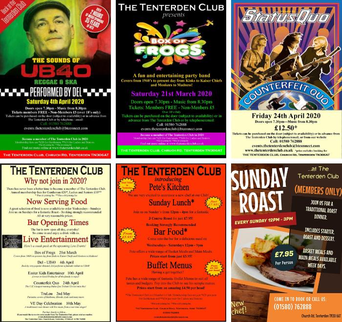 Events at Tenterden Club