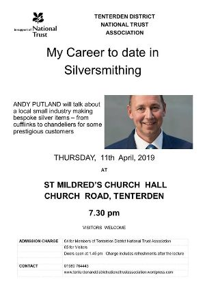 National trust lecture Silversmithing