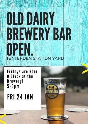 Old Dairy Brewery Bar Open