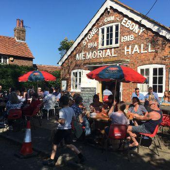 The Memorial Inn Pop up Pub in Stone