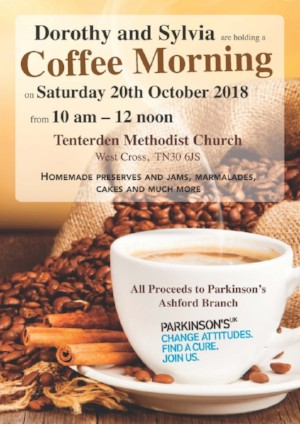 Dorothy and Sylvia Coffee Morning for Parkinsons