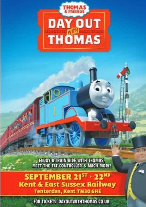 A Day out with Thomas at Tenterden Town Station