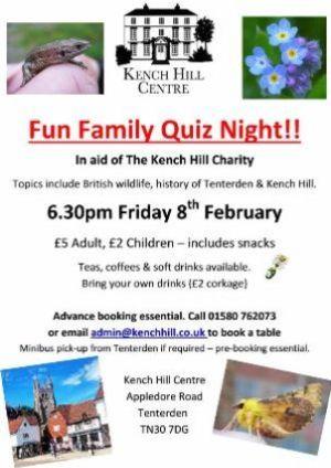 Kench Hill Quiz
