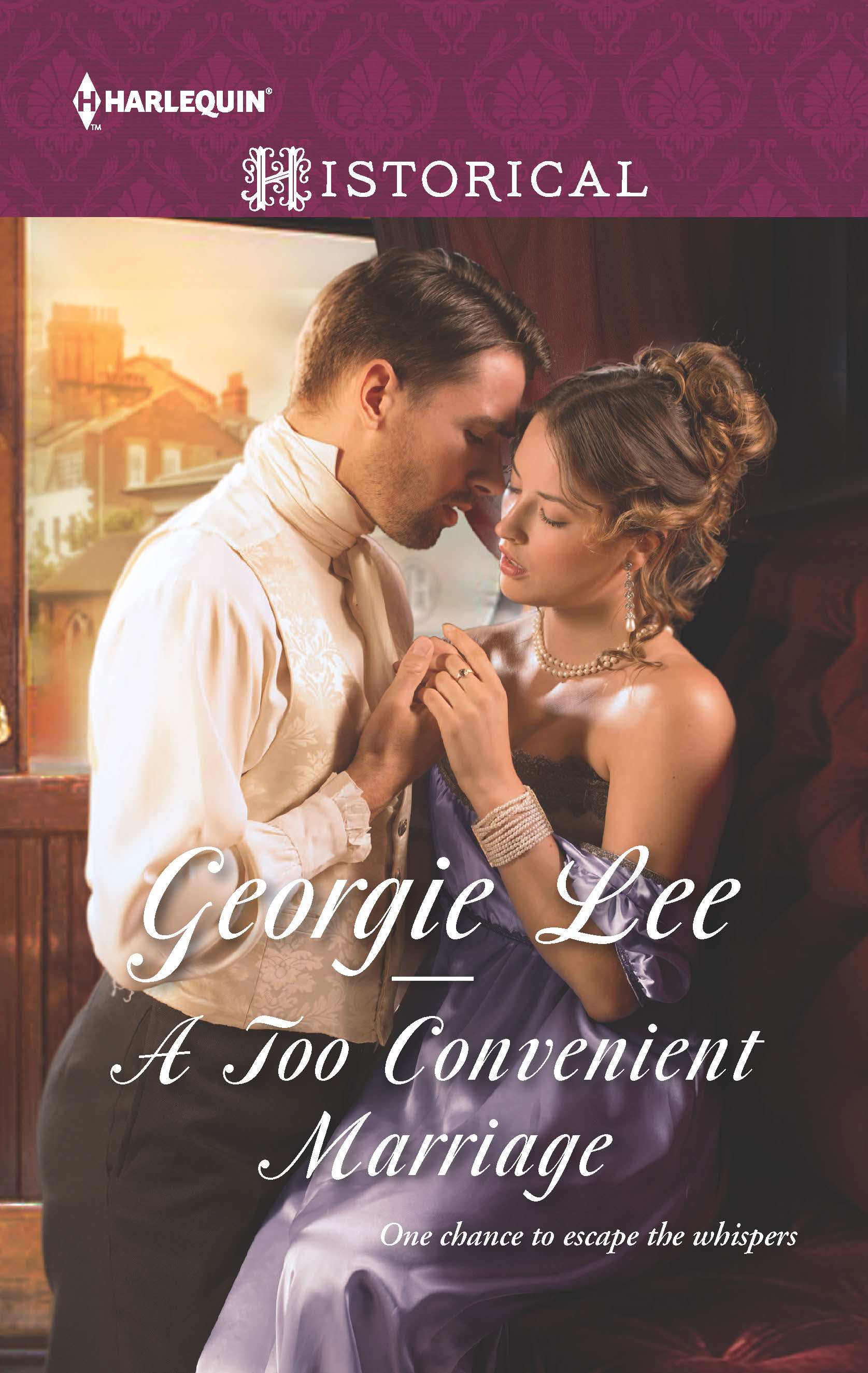 A Too Convenient Marriage, Georgie Lee, Harlequin, Historical Romance