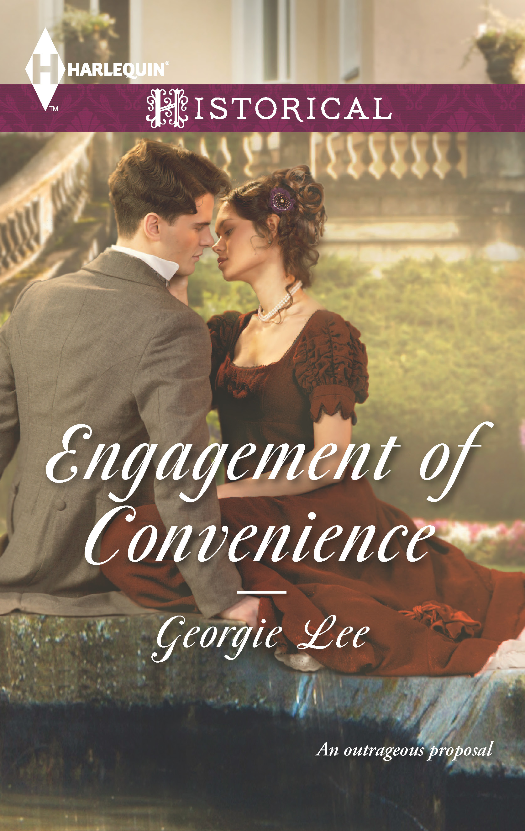 Engagement of Convenience, Georgie Lee, Harlequin, Historical Romance
