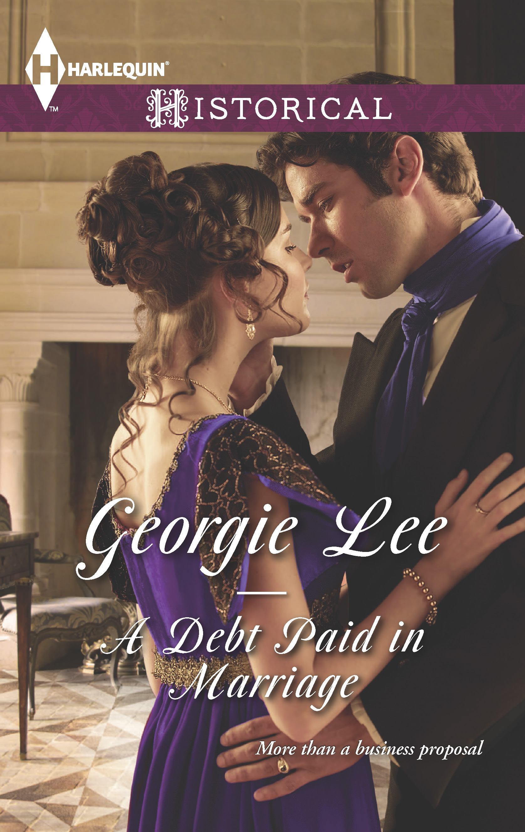 A Debt Paid in Marriage, Georgie Lee, Harlequin, Historical Romance