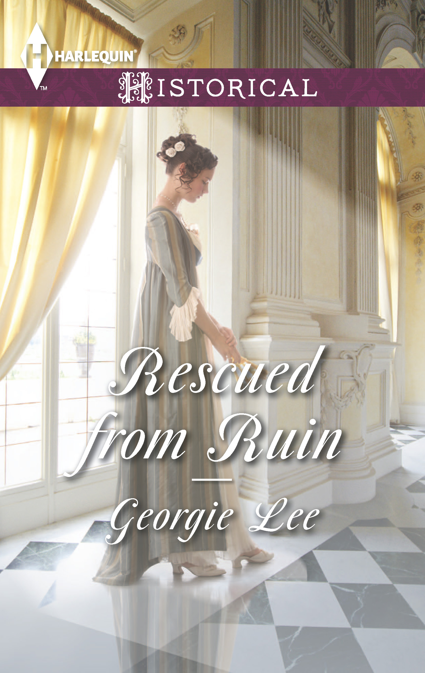 Rescued from Ruin, Georgie Lee, Harlequin, Historical Romance