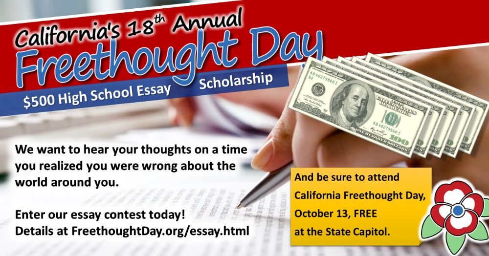 We want to hear your thoughts on a time you realized you were wrong about the world around you. Enter our essay contest today!