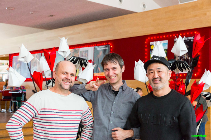 Dirk, Alex, and Yasuo at CAMERA JAPAN 2017