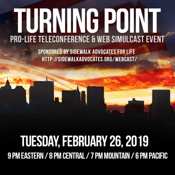 Turning Point - Teleconference and Web Simulcast