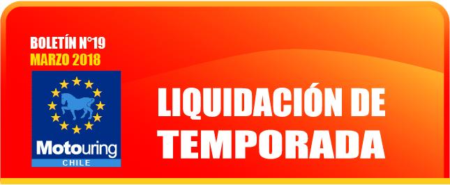 Liquidación de temporada