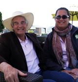 Dr. Allan Armitage and Maria Zampini