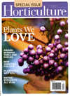 Horticulture: Plants We Love