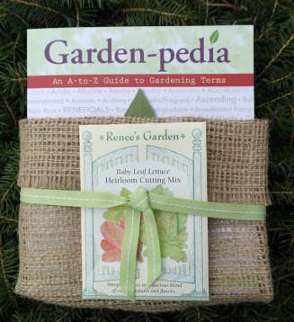 Garden-pedia book and Renee's Garden Seeds