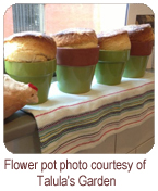 Flower pot photo courtesy of Talula's Garden