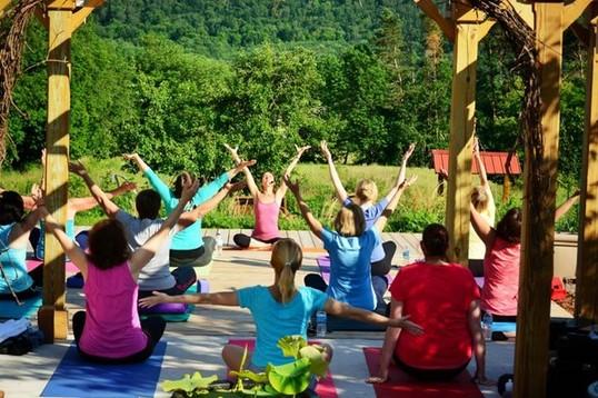 The Lil Yoga Barn