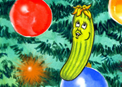 Pennie the Christmas Pickle