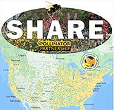 Pollinator partnership map
