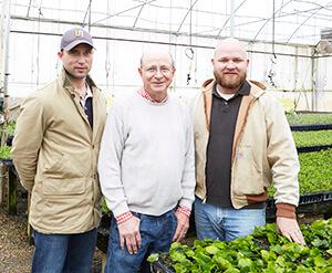Jonathan, Jim and Benjamin Berry
