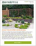 Monrovia's Plant Savvy Newsletter