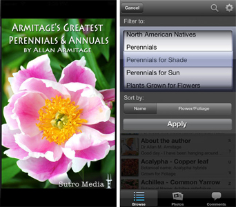 Armitage's Greatest Perennials & Annuals Mobile Phone App
