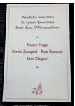 GWA Book Announcement by St. Lynn's Press