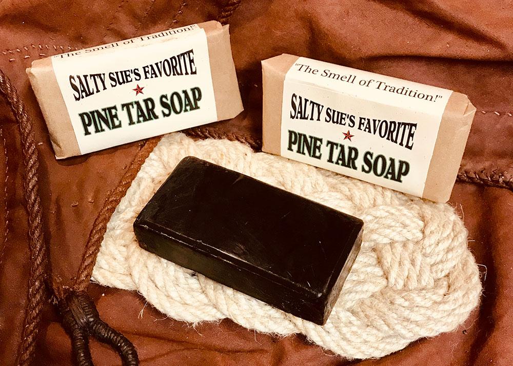 Salty Sue's Favorite Pine Tar Soap