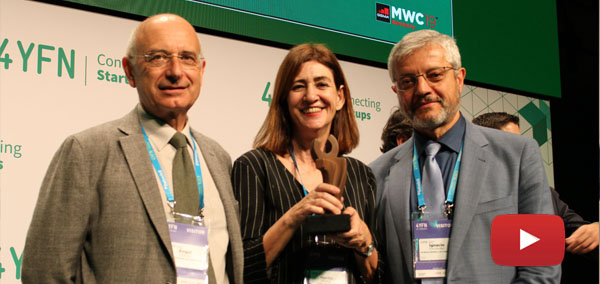 La APP Ariadna, premiada en el Mobile World Congress