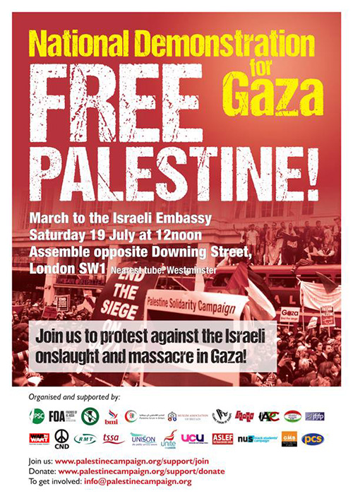 Gaza: This demonstration needs to be massive