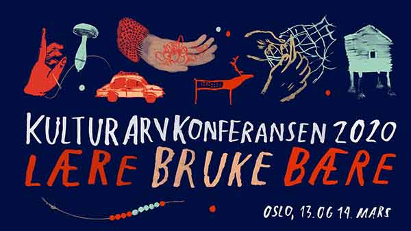 Banner for kulturarvkonferansen.