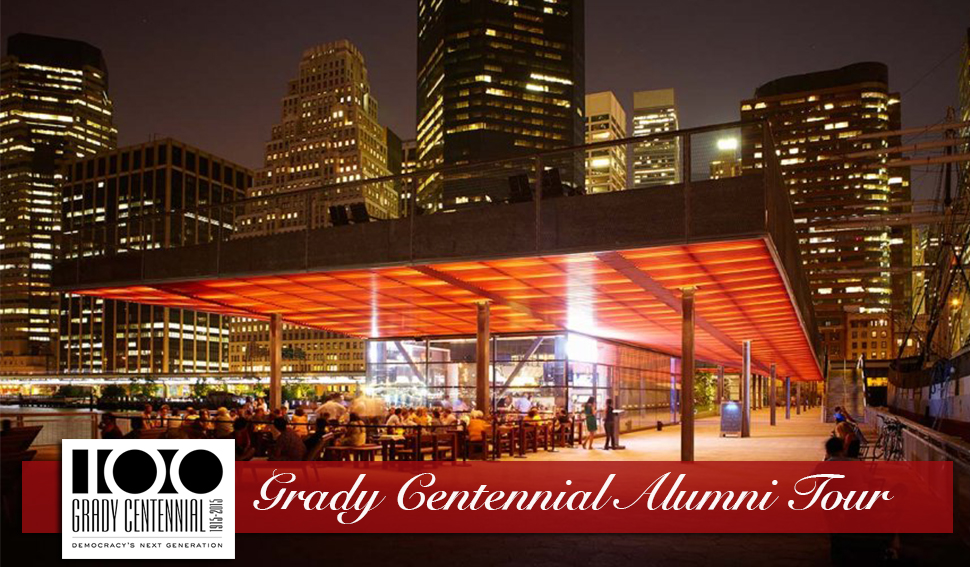 NYC area alumni and friends: We are headed your way on our centennial tour.