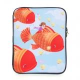 Flying Fish iPad Sleeve by Jen Horn & Gail Go