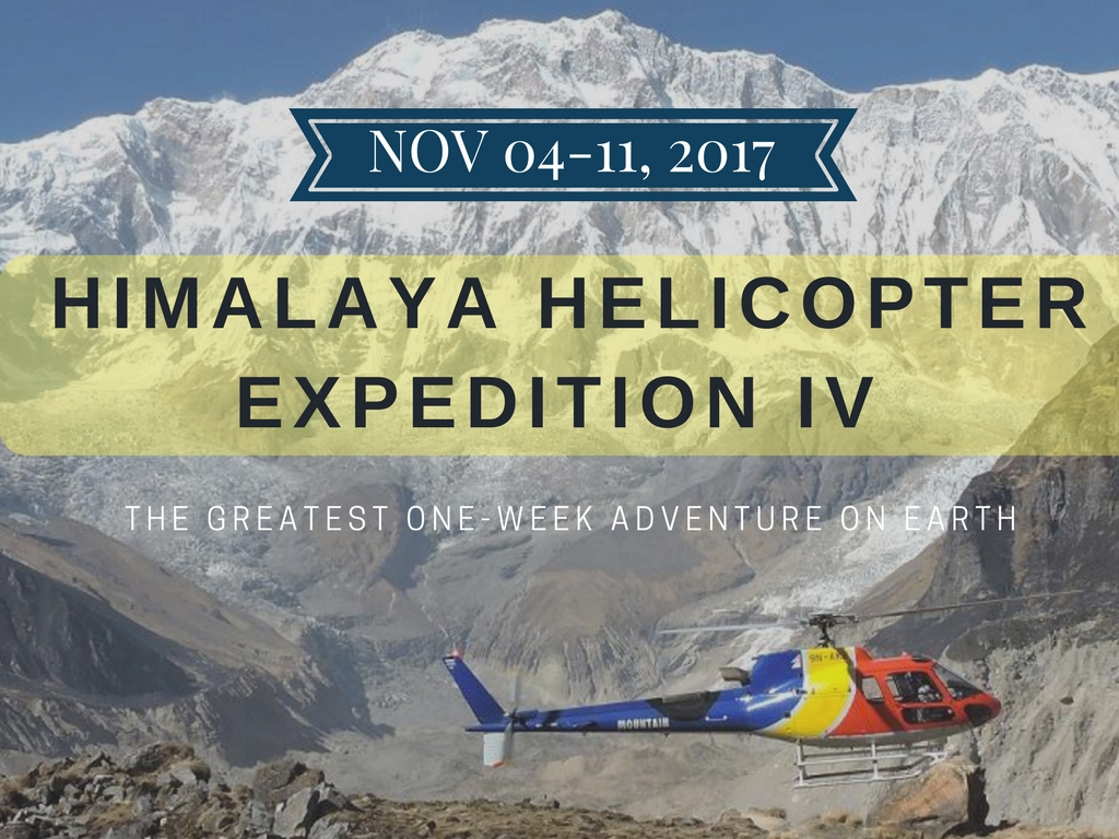 Explore the Himalayas by Helicopter!