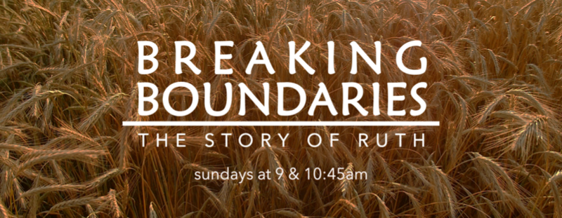 Breaking Boundaries | 9 & 10:45am