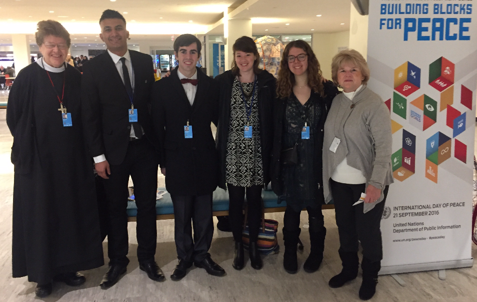 URI Youth at the UN
