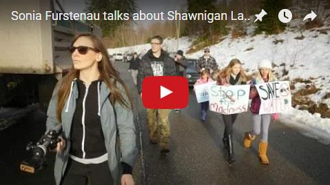 Sonia Furstenau talks about Shawnigan Lake - March 1st 2016 SEA Event