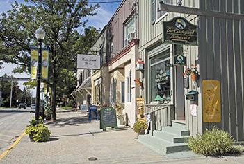 Whitchurch-Stouffville downtown