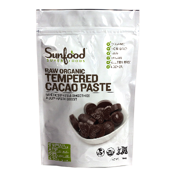 Sunfood Cacao Paste, Tempered
