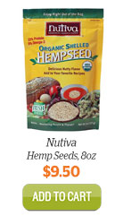 Add Nutiva Hemp Seeds, 8oz to Cart