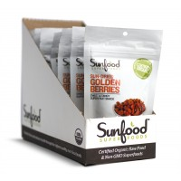 Sunfood Golden Berries, 12pk/2oz