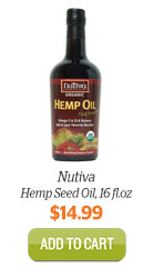 Add Nutiva Hemp Oil to Cart