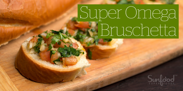 Super Omega Bruschetta