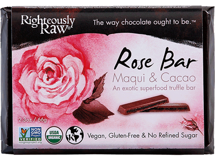 Righteously Raw, Rose Maqui Truffle Bar